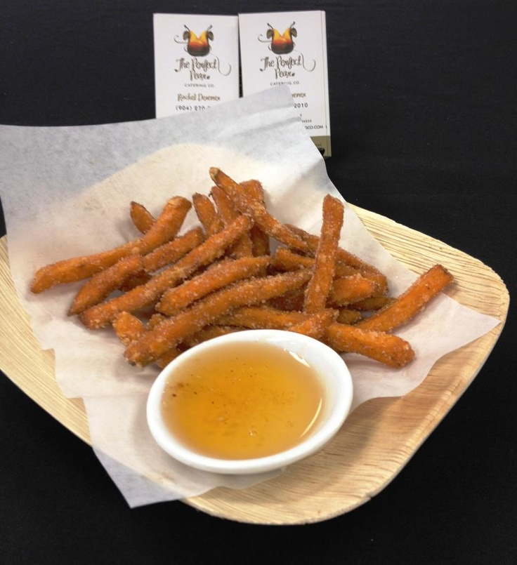 Cinnamon Sugar Spiced Sweet Potato Fries with Honey Dipping Sauce