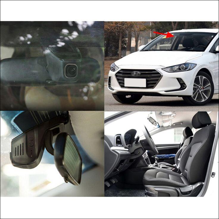 Car wifi DVR For Hyundai ELANTRA Car Driving Video Recorder Novatek 96655 Car black box hidden type Dash cam Car black box