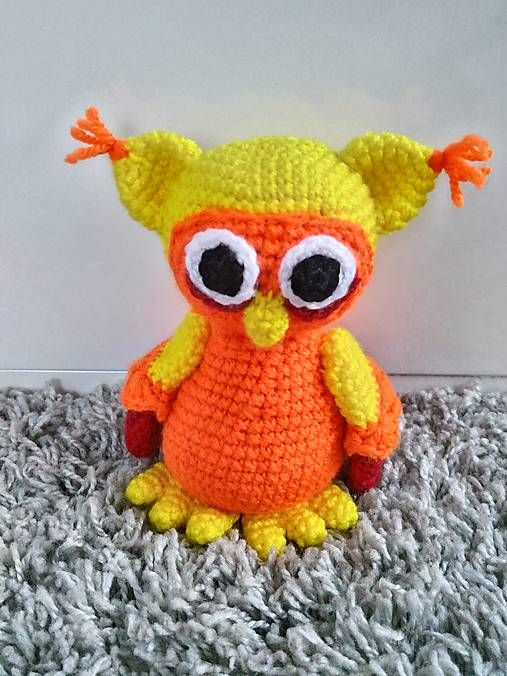 Jamin / sovička Sonička crochet owl