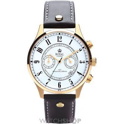 Mens Royal London Anniversary Edition Chronograph Watch 41111-02