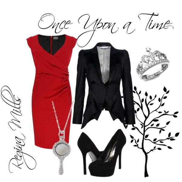 Regina Mills, created by dingoesatemybaby on Polyvore