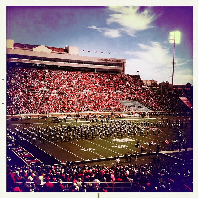 Goin Band Raider Land Texas Tech University Jones AT&T