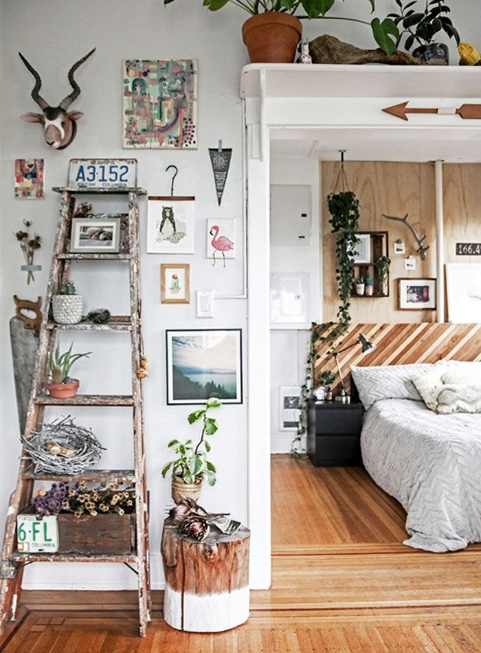 By day, Brittany Shmyr is a Visual Manager for Anthropologie, overseeing '…all aspects of presentation, display and merchandising within the store.' By night, at their shop The Nested Owl, she and a close friend give new life to old furniture. So it comes as no surprise that Brittany's home in Vancouver, British Columbia is a cozy and stylish retreat.Built in 1912, her building's one-bedroom rental wasn't easy to snag. The competitive Vancouver housing market had Brittany resigned to the…