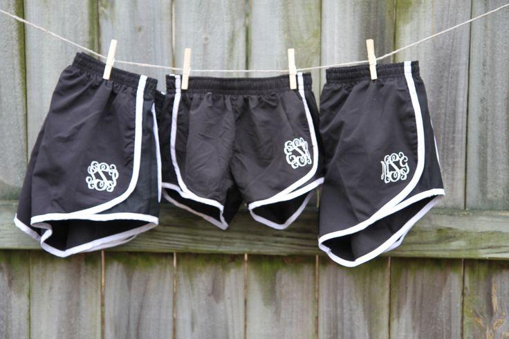 Monogram Athletic Shorts, Running Shorts, Cheer Shorts, Southern Girls by…