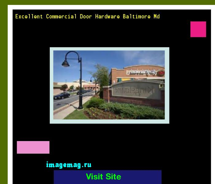 Excellent Commercial Door Hardware Baltimore Md 204450 - The Best Image Search