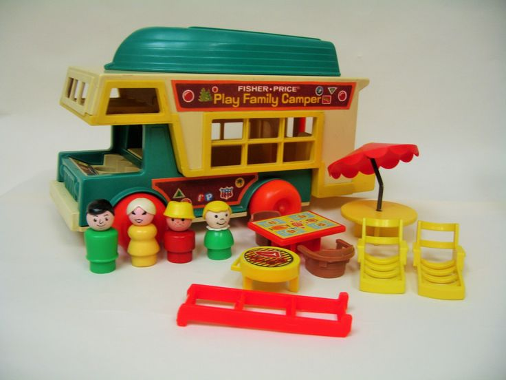 Vintage Fisher Price Camper 994 by toysofthepast on Etsy https://www.etsy.com/listing/176628411/vintage-fisher-price-camper-994