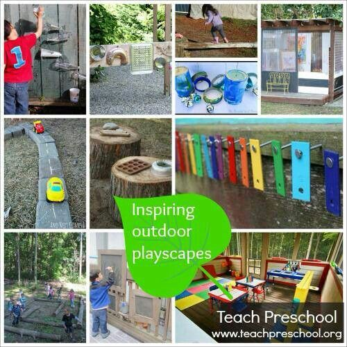 Outdoor Play Areas Children 39 S Projects Pinterest