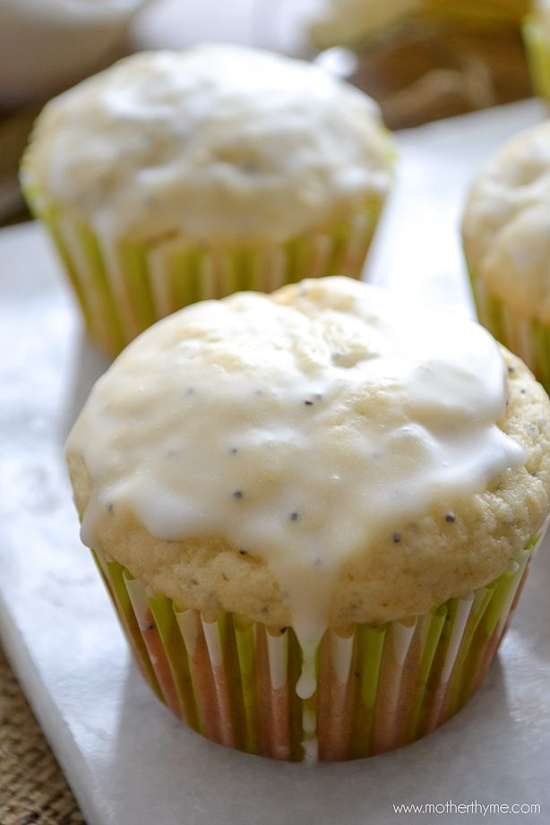 Meyer Lemon Poppy Seed Muffins