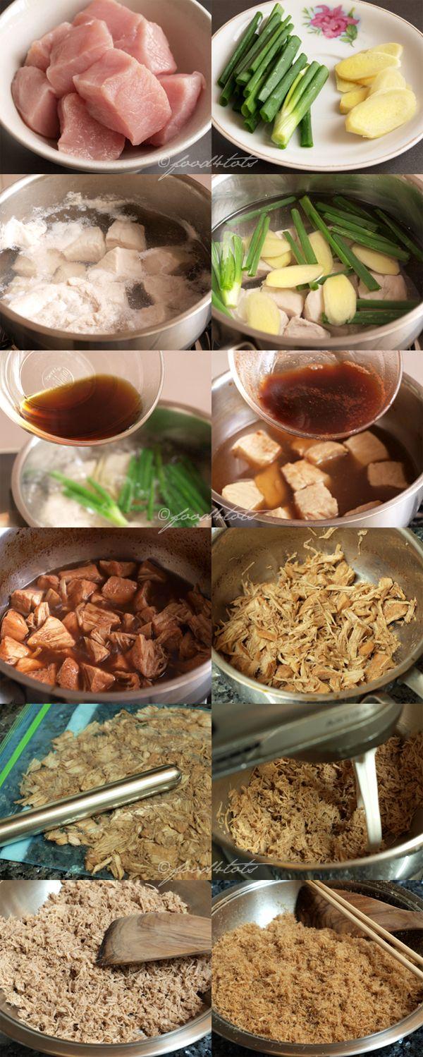 Pork Floss, Meat Floss, Rousong, Flossy Pork, Yuk Sung, toddler, kid, food 4 tots