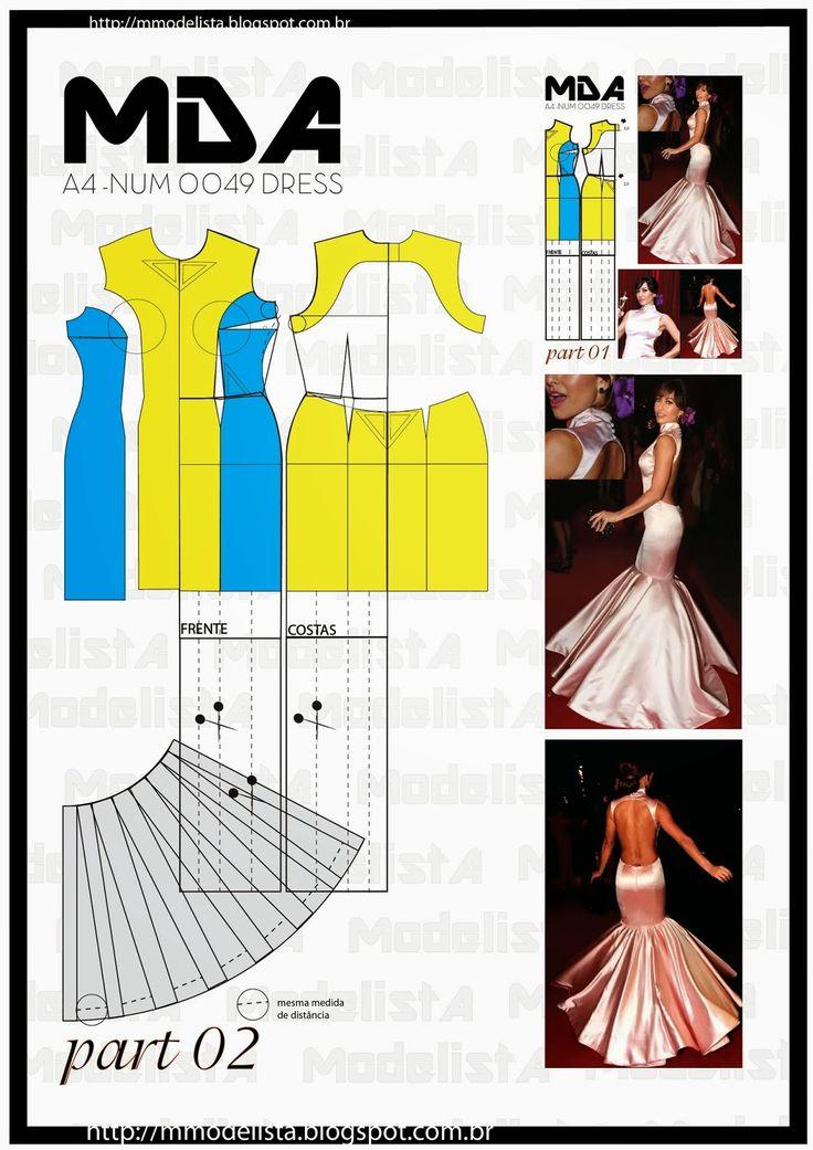 ModelistA: A4 NUMERO 0049 DRESS