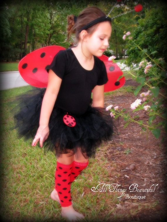 Ladybug Halloween Costume Lady Bug Tutu Costume by AllThingsGrand, $35.99 Chesney would be so cute!!