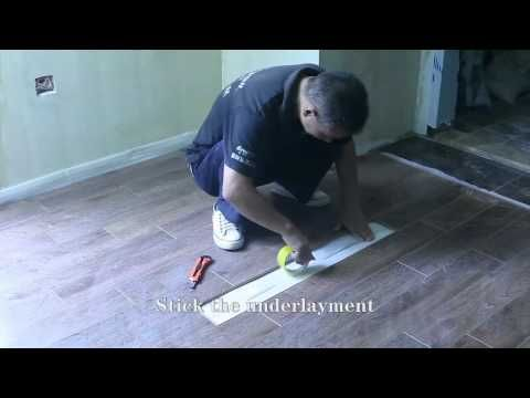 How to replace a damaged floor panel? Turn the sound off, the music loop is annoying!