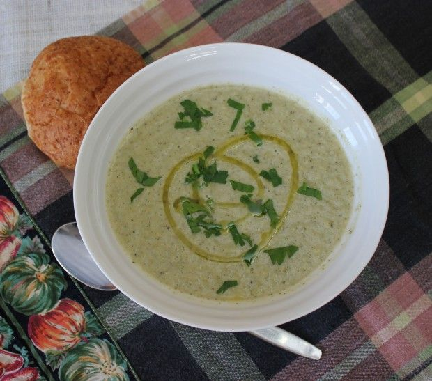 Roasted Fennel & Broccoli Soup