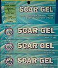 3 SCAR GEL Stretch Marks, Acne Scar Keloid Skin, Burns Removal Gel Fade Cream
