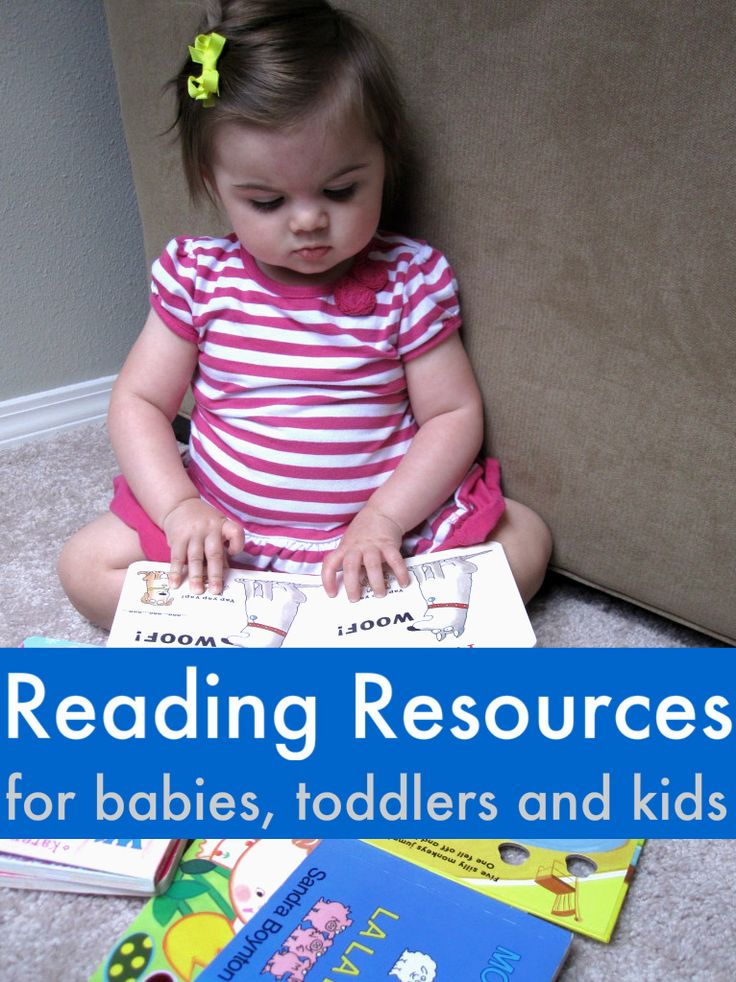 Great list of reliable online resources for helping your child with reading, from birth through school age.
