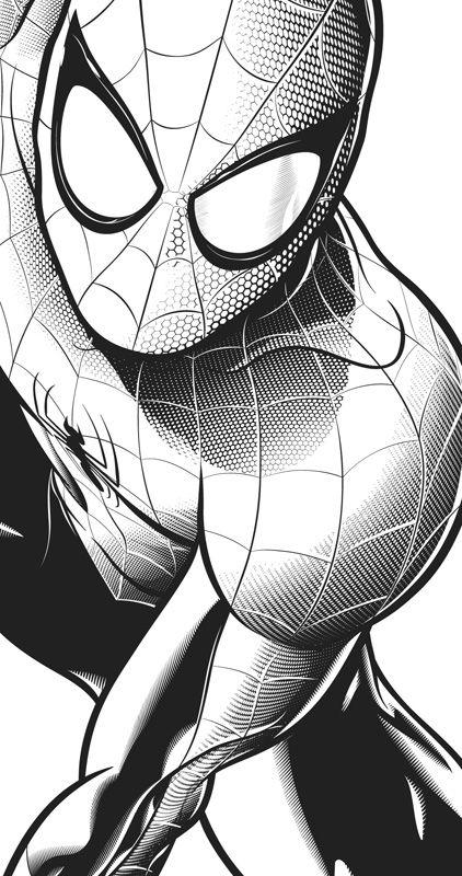 spiderman para colorear - Buscar con Google