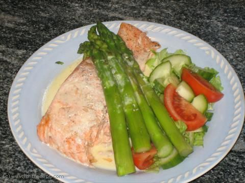LCHF-Recept: Ugnskokt lax med lime