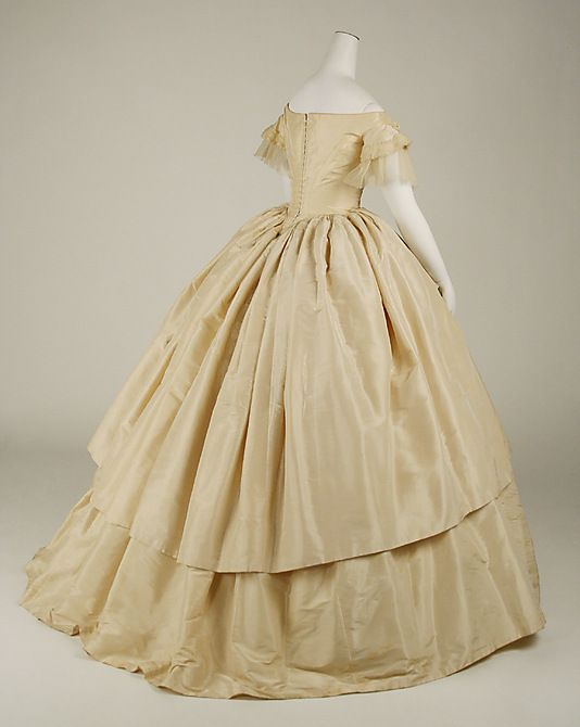1000 Images About 1850 1865 Ballgowns On Pinterest