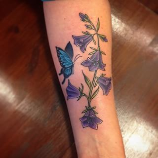 bluebell tattoo - Sök på Google