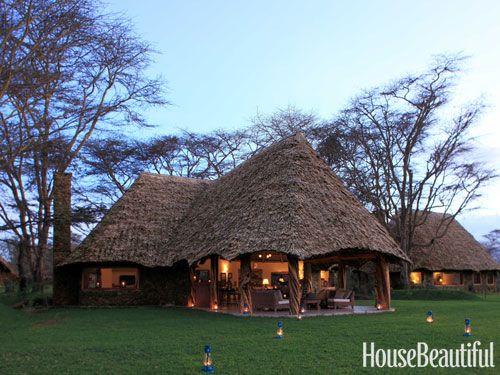 Indoor outdoor living in kenya beautiful the natural for Kenyan home designs