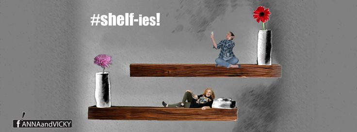 Shelf-ies! www.facebook.com/ANNAandVICKY #design and #photography ANNAandVICKY