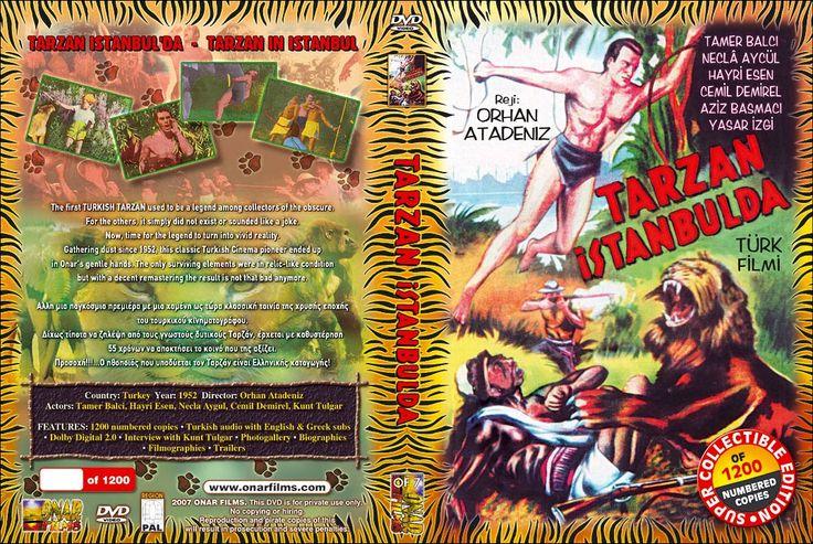 1952 Tarzan İstanbul'da DVD