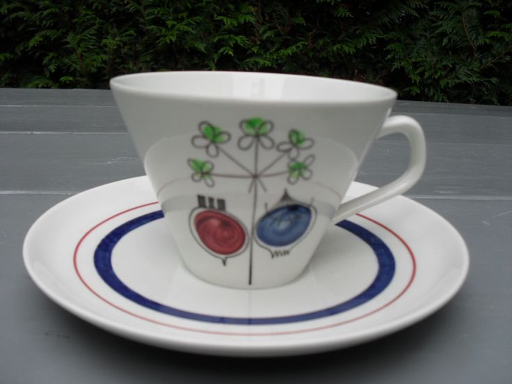 PICKNICK CUP AND SAUCER