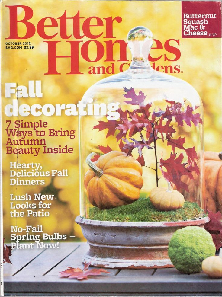 better homes and gardens magazine october 2012 - Better Home And Garden