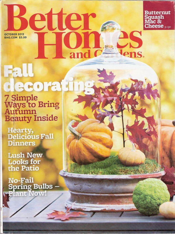 better homes and gardens magazine october 2012 - Better Home And Garden