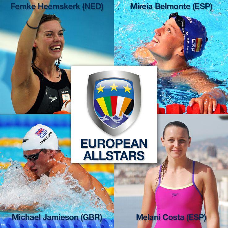 Meet The European Allstars - the Speedo athletes going head to head with Team USA at Duel in the Pool 2013 @Michael Dussert Dussert Jamieson
