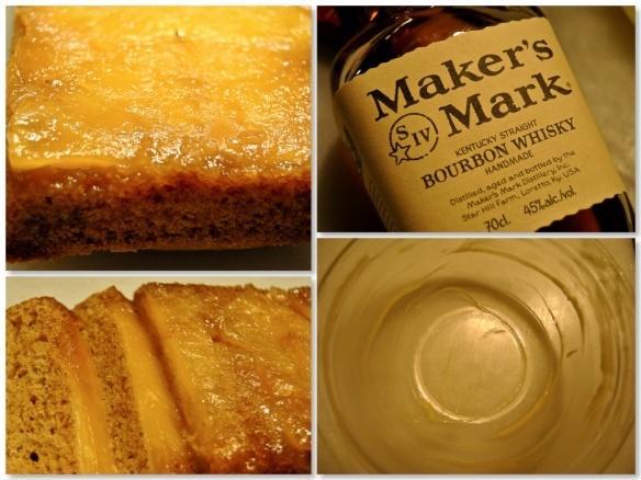 Caramelised Pineapple And Bourbon Upside Down Cake Maka