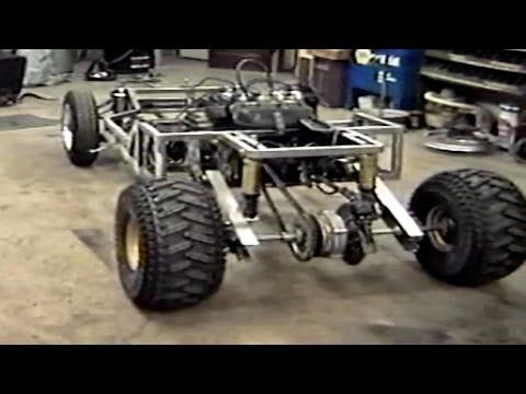 How to build a Homemade 700CC 103HP Go Cart from Old Car scrap parts | Practical Survivalist
