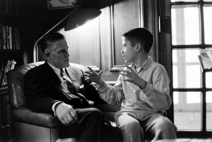 Mitt Romney and George Romney, 1958 | Growing Up Romney: Mitt's Early World | LIFE.com