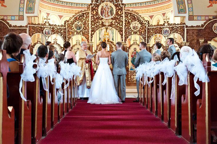 Taken at St. Michael's Church in Etobicoke.  Toronto Wedding