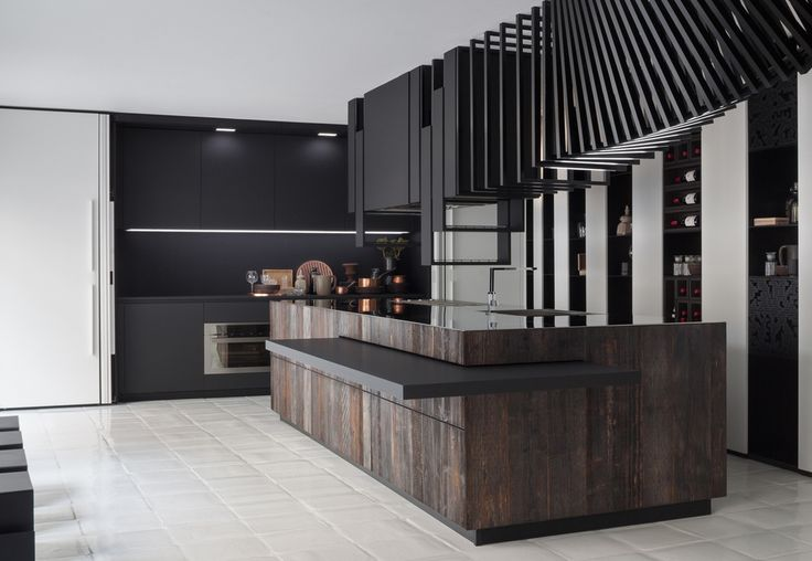 """The Cut"" Kitchen design by Alessandro Isola"
