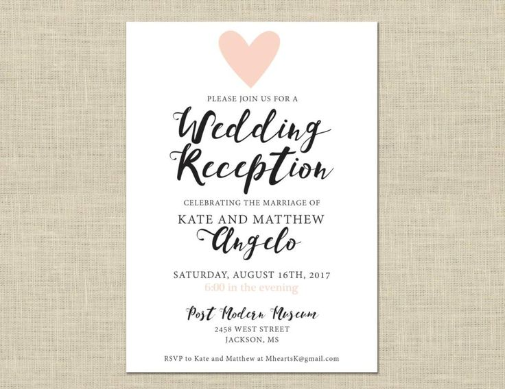 Wedding Invitation Workding: 25+ Best Ideas About Casual Wedding Invitations On