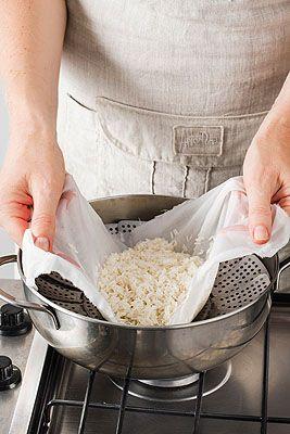 Riso al vapore con spezzatino di pollo - Scuola di cucina - Donna Moderna