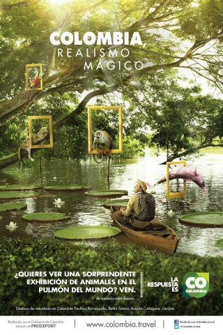 Colombia...   realismo mágico