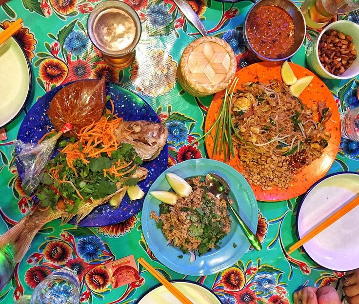 A wonderfully colourful and tasty Thai dinner at @kisskisseatery - always delicious!  - @theglobalcouple on Instagram