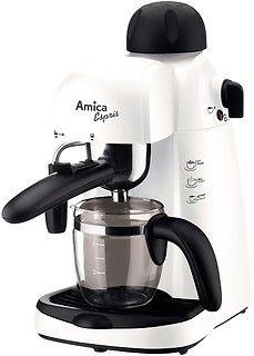 Idealny prezent dla miłośniczek kawy. Ekspres ciśnieniowy firmy #Amica cechuje intuicyjny panel sterowania, rozsądna cena oraz 24 miesięczna gwarancja producenta. #kobiety #prezent #PrezentDlaNiej #Święta #GiftsForHer