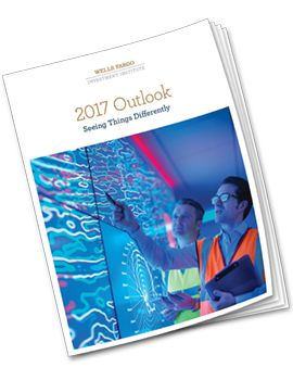 Wells Fargo Investment Institute is expecting improving growth, normalizing inflation, higher equity prices, and two interest rate hikes in 2017.