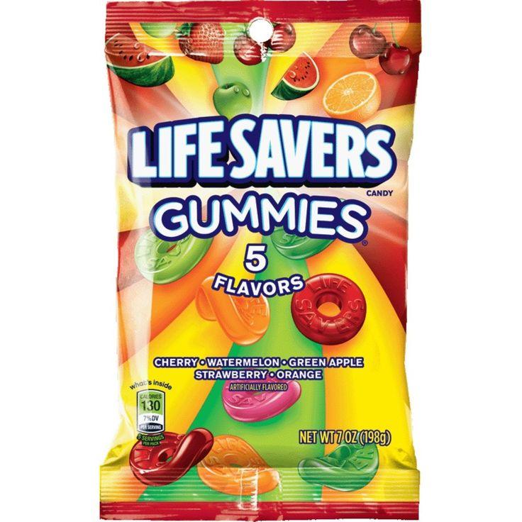 Life savers gummies 5 flavors gummy candy 7oz gummy
