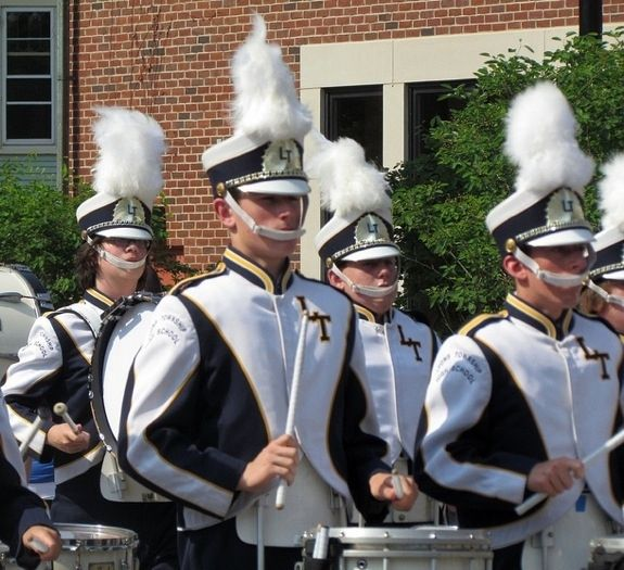 You don't understand why these chinstraps have to be like this | 16 Reasons Why Band Geeks Rule
