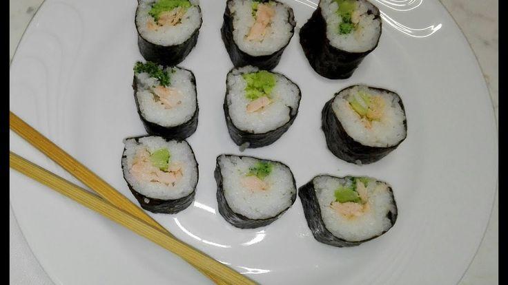 Sushi rolls a modo mio [Piatto unico - Light]