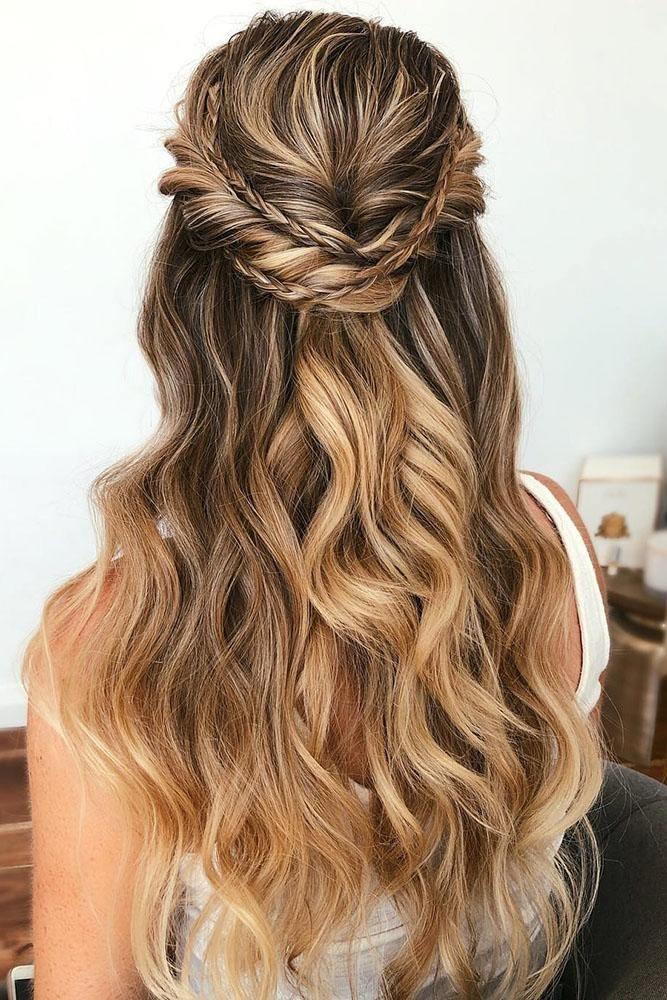 Wedding Hairstyles For Long Hair Addicfashion