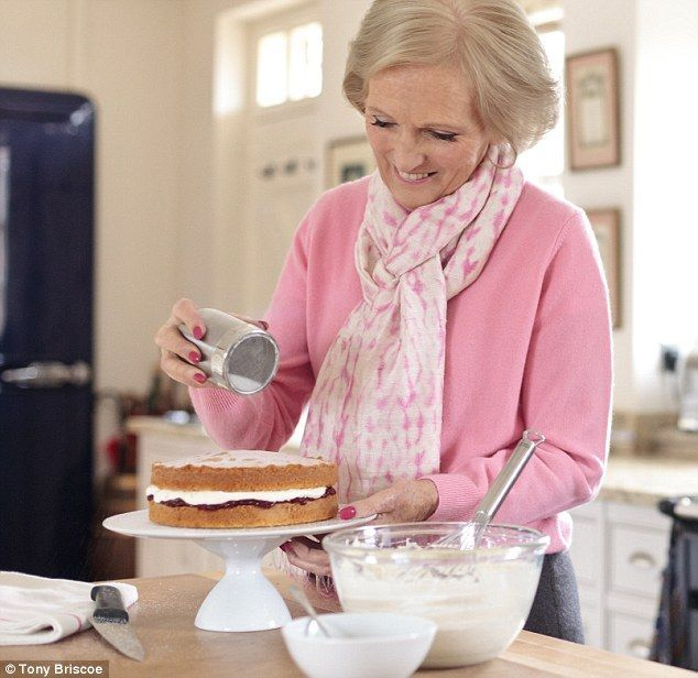 Victoria Sandwich Cake- Mary Berry has helped boost the popularity of baking, which has contributed to soaring butter sales
