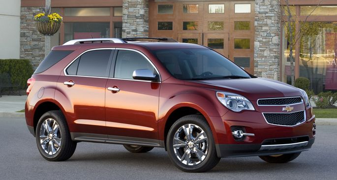 2012 Chevy Equinox Custom Wheels | Chevrolet Equinox Accessories