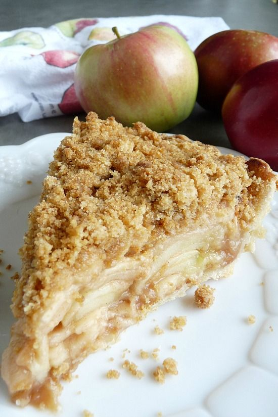 This is by far my favorite pie. When I was growing up, my family would visit an apple orchard every fall. The next day my Mom and Grandmother would make apple pies. I got to help and as I got older...