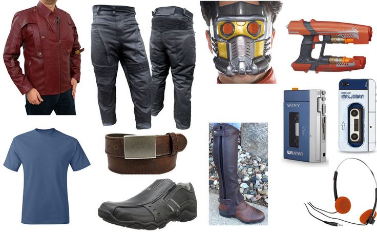 red jacket guardians of the galaxy | Peter Quill / Star-Lord | Costume DIY Guides for Cosplay and Halloween