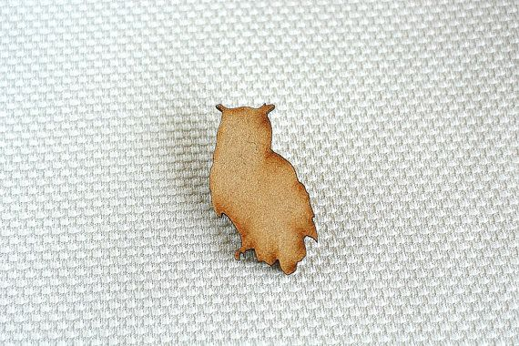 Wooden Owl Brooch by ShopSparkleMotion on Etsy. A delightful natural wooden owl brooch with beautiful darkened edges.   https://www.etsy.com/uk/listing/218234653/wooden-owl-brooch-woodland-animal?ref=shop_home_active_3